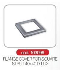 Capac flansa 40x40 profil deck gard