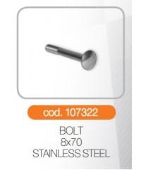 Bolt 8x70 otel inoxidabil