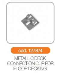 Clema metalica conexiune deck podea