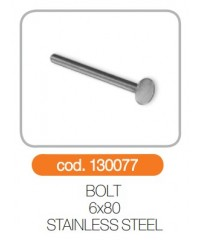 Bolt 6x80 otel inoxidabil