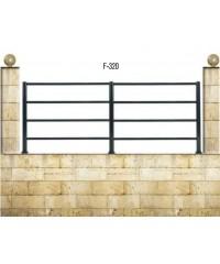 Gard din aluminiu F-320
