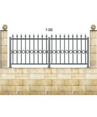 Gard din aluminiu F-350