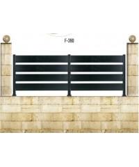 Gard din aluminiu F-390